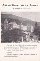 LE FAYET - Grand Hotel De La Savoie - Sonstige Gemeinden