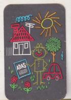 Romanian Small Calendar - 1967 ADAS Insurance Company (2) - Calendriers