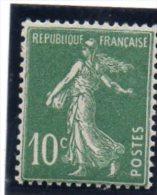 FR  Semeuse N° 159 I  ** Papier X - 1906-38 Semeuse Camée