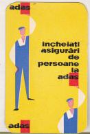 Romanian Small Calendar - 1964 ADAS Insurance Company - Calendriers