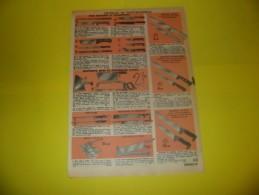 Publicité Coutellerie De Poche  Couteau De Chasse Couteau Professionnel   1968 - Publicidad
