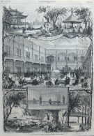 L'établissement Thermal D'Enghien-les-Bains - Page Original 1875 - Documents Historiques
