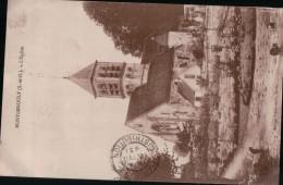 377  MONTGEROULT   ECRITE  TIMBRE   VERSO - France