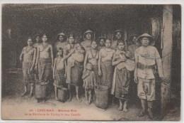 LANG BIAN  MILICIENS MOIS DE LA RESIDENCE DE DJIRING ET LEUR FAMILLE - Viêt-Nam