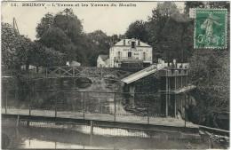 Essonne : Brunoy, L'Yerres Et Les Vannes Du Moulin - Brunoy