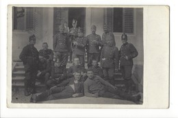 14627 - Armée Suisse Carte Photo De La Troupe Soldats à Biberist 1918 - Cartes Postales