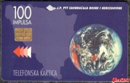 Bosnia Sarajevo -  Philatelie B&H, Second Chip Card Issue 100 Units , Used - Bosnia