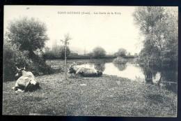 Cpa Du 27  Pont Authou -- Les Bords De La Risle    LIOB93 - France