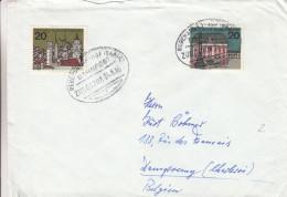 Allemagne - République Fédérale - Lettre De 1965 - Oblitération Train Regensburg - BRD