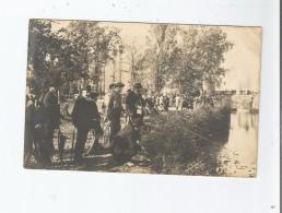 CONCOURS DE PECHE CARTE PHOTO NON SITUEE AVEC BELLE ANIMATION - To Identify