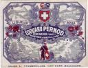 Ancienne étiquette - Absinthe. Edouard Pernod - - Etiquetas