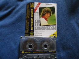 GERARD LENORMAN K7 AUDIO VOIR PHOTO...ET REGARDEZ LES AUTRES (PLUSIEURS) - Audio Tapes