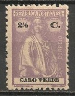 Timbres - Portugal - Cap Vert - 1912-1921 - 2 1/2 C. - - Cap Vert