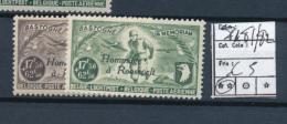 BELGIUM BELGIQUE COB PR81/82 MNH - Privées & Locales