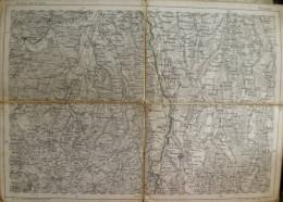 Memmingen - Topographische Karte 26cm X 36cm - Reymann ´s Special-Karte - Entwurf Und Gezeichnet F. Handtke Revidirt Dur - Topographische Karten