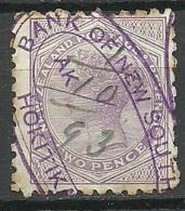 NEW ZEALAND O 1893 Revenue Tax Dienstmarke O - Officials