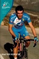 UNAI YUS KEREJETA....PALMARES AU DOS...CPM.. - Ciclismo