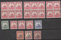 Togo: Old Stamps, Including Umm Blocks Of 6, 6 & 4 - Germany