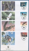 Samoa 1993 WWF Naturschutz Flughunde Ersttagsbrief 754/57 (X26810) - Samoa (Staat)