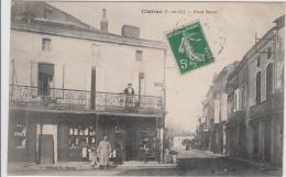 CLAIRAC PLACE SERRES 1912 TBE - Altri Comuni