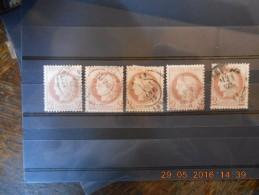Lot Du 30-05-2016_19_superbe Obliteration .beau Lot De Classique,n°51,cote élevée. - 1871-1875 Ceres