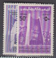SYRIE    1961        PA      N.  180 / 181       COTE   1 , 20   EUROS        ( V 619 ) - Siria