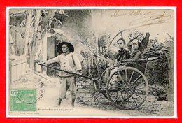 VIËT-NAM -- TONKIN - Pousse Pousse  Saigonnais - Viêt-Nam