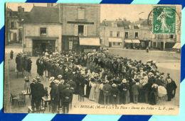 (49) BRISAC - La Place - Danse Des Folies - Autres Communes
