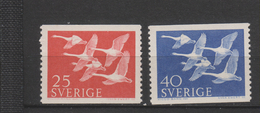 Yvert 409 / 410 ** Neuf Sans Charnière - Suède