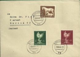 Postlagernder Brief Vom 3.10.44, Mit DR-Nr. 899, 902/03 - Deutschland
