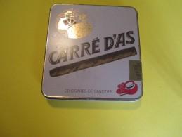 Cigare/ Boite Métallique/Carré D´As/25 Cigares De Canotier/Vers 1960 - 1970/ BFPP64 - Sigarenkokers