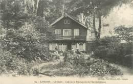 """/ CPA FRANCE 52 """" Langres, Le Chalet, Café De La Promenade De Blanchefontaine"""" - Langres"""