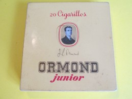 Cigarillos / Boite Métallique/Ormond Junior/Sumatra Havane /Vers 1960 - 1970          BFPP63 - Contenitore Di Sigari