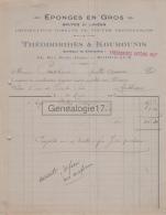 33 3000 BORDEAUX GIRONDE 1922 Eponges THEODORIDES - KOUROUNIS Import Eponge Rue Notre Dame - France
