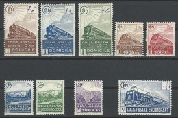 """FR Colis Postaux YT 174 à 182 """" Toute La Série """" 1941 Neuf* - Paketmarken"""