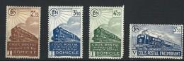 """FR Colis Postaux YT 183 à 186 """" Série Complète """" 1941 Neuf* - Colis Postaux"""
