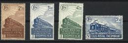 """FR Colis Postaux YT 183 à 186 """" Série Complète """" 1941 Neuf* - Paketmarken"""