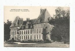 Cp , 02 , NOTRE DAME DE LIESSE , Château De MARCHAIS , Vue Prise Du Parc , écrite 1959 , Ed : Bienaimé - France