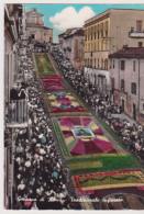 GENZANO DI ROMA INFIORATA ACQUARELLATA VIAGGIATA 1965 - Italia