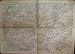Angermünde - Topographische Karte 59 - 26cm X 36cm - Reymann 's Special-Karte - Entwurf Und Gezeichnet F. Handtke - Situ - Topographische Karten