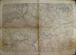 Ulm - Topographische Karte 256 - 26cm X 36cm - Reymann 's Special-Karte - Entwurf Und Gezeichnet F. Handtke - Situation - Topographische Karten