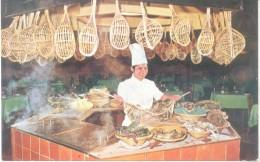 HOTEL SIAM INTER-CONTINENTAL BANGKOK TALAY THONG SEAFOOD INN CPSM CIRCA 1950 - Thailand