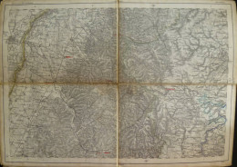 Strassburg - Topographische Karte 254 - 26cm X 36cm - Reymann 's Special-Karte - Entwurf Und Gezeichnet F. Handtke - Sit - Topographische Karten