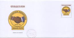 Bénin 2016 Enveloppe Prêt-à-poster PREAFFRANCHIE Association Nonvitcha Grand-Popo Depuis 1921 MNH** - Bénin – Dahomey (1960-...)