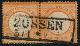 1/2 Groschen Großer Brustschild Waag. Paar , ZOSSEN - Germany
