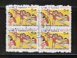 VN 1985 MI 1606 X4 USED - Vietnam