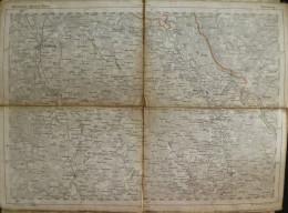 Lüneburg - Topographische Karte 56 - 26cm X 36cm - Reymann 's Special-Karte - Gezeichnet Durch Brokk Und F. Handtke - Ge - Topographische Karten