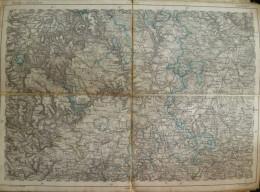 Sigmaringen - Topographische Karte 270 - 26cm X 36cm - Reymann 's Special-Karte - Entwurf Und Gezeichnet F. Handtke - Ge - Topographische Karten