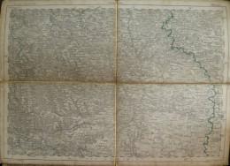 Ellwangen - Topographische Karte 239 - 26cm X 36cm - Reymann 's Special-Karte - Entwurf Und Gezeichnet F. Handtke - Situ - Topographische Karten