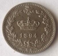 MONEDA DE 20 CENTESIMI DE ITALIA DE 1894 - 1861-1946 : Reino